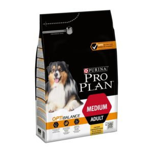 PRO PLAN MEDIUM ADULT, 3KG