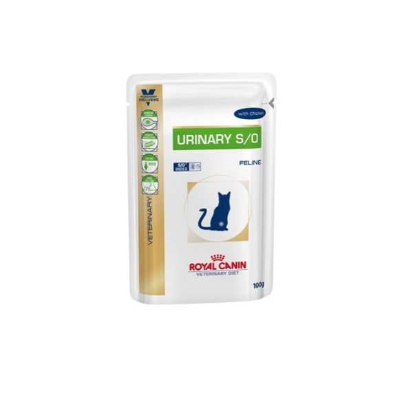 VD URINARY CHICKEN CAT POUCH, 100G