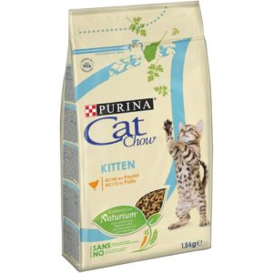 CAT CHOW KITTEN PILETINA 1,5KG