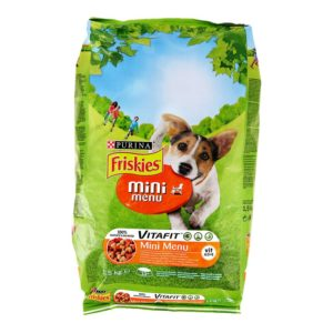 FRISKIES SP MINI MENU MESO+POVRĆE 1,5KG