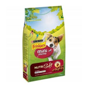 FRISKIES SP MINI MENU PILETINA+POVRĆE 1,5KG
