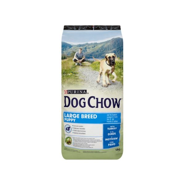 DOG CHOW SP PUPPY LARGE BREED PURETINA&RIŽA, 2,5KG