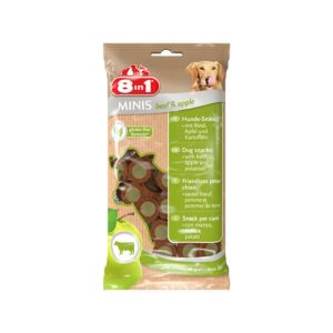 8IN1 MINIS GOVEDINA&JABUKA, 100G