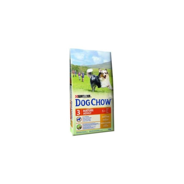 DOG CHOW MATURE ADULT PILETINA 2,5KG