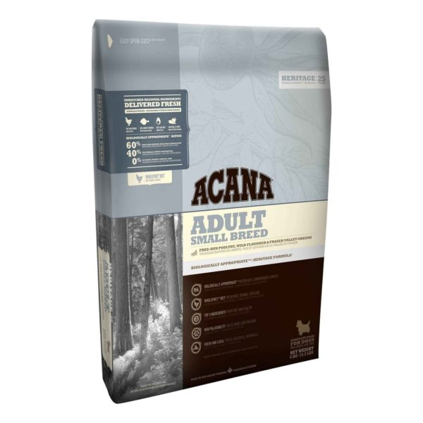 ACANA H25, ADULT SMALL BR., 340G
